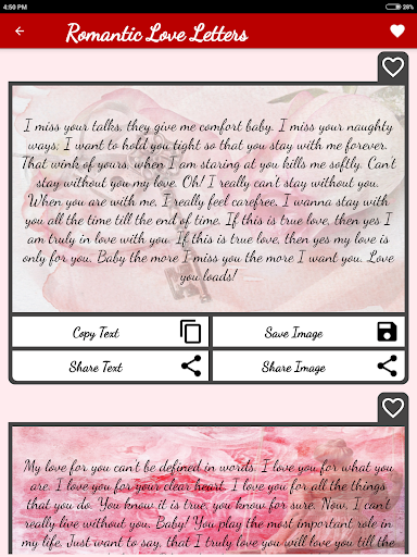 Love Letters & Love Messages - Share Flirty Texts - Apps on