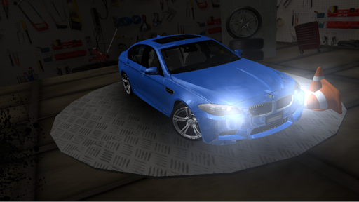 m5 driving simulator screenshot 2