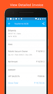 Tally on Mobile: Biz Analyst | Tally Mobile App 3