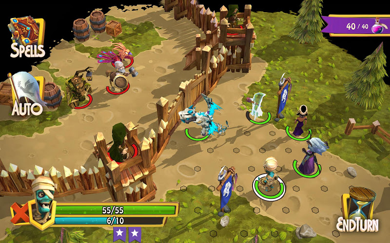 Heroes of Flatlandia Screenshot 5