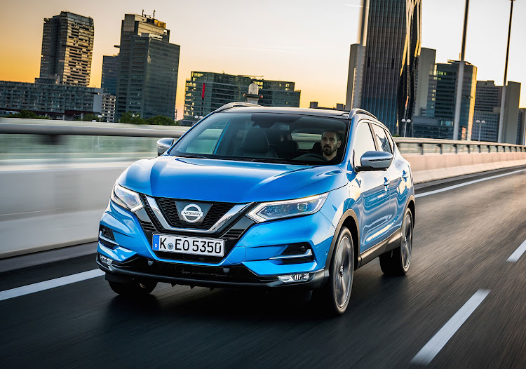 The Nissan Qashqai still outsells any D-segment sedan in Europe (picture shows the 2018 Qashqai)