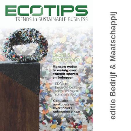 ecoTips magazine thema Bedrijf & Maatschappij (september 2018)