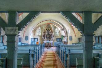 Photo: Zudar - ev. Pfarrkirche St. Laurentius (4) HDR