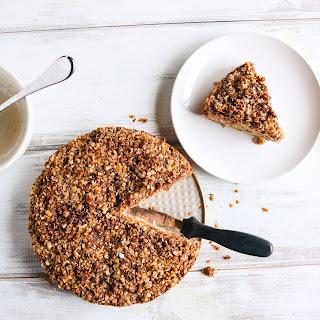 Vegan Peach Coffee Cake Recipe