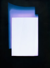 Photo: © Olivier Perrot Photogram Photogramme coul lecture 2000 40x54cm Ref : livre0112