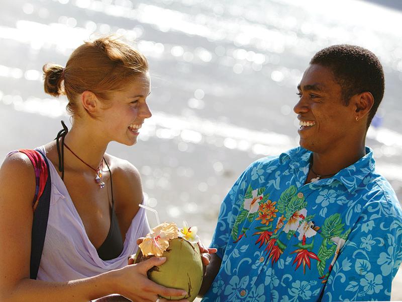Photo: Coconut drink anyone?