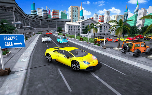 auto car parking game – 3d modern car games 2019 screenshot 1
