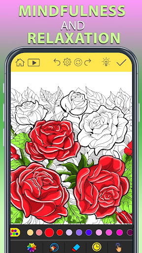 Adult Coloring Book Free 2020 ud83dudc69 ud83cudfa8 by ColorWolf Apk 2