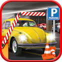 Dr Car Speed Parking Game icon