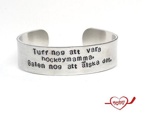 Armband - Hockeymamma - Tuff nog