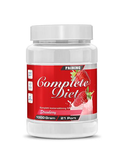Fairing Complete Diet 1000g - Strawberry