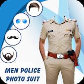 Tải Man Mustache Police Photo Suit APK