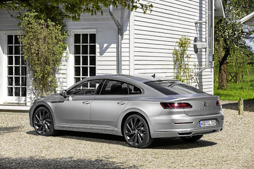 Significant changes to the rear give the Arteon  more of a liftback look. Picture: VOLKSWAGEN