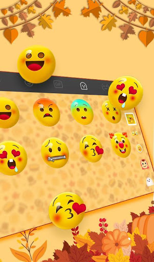 Download Happy Thanksgiving Keyboard Theme MOD APK 5