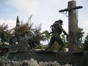 Photo: The Wreckers at The Key West sculpture garden at Mallory Square