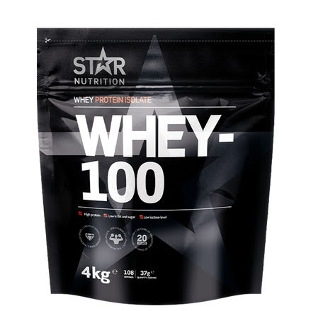 Star Nutrition Whey 100 4kg - Double Rich Chocolate