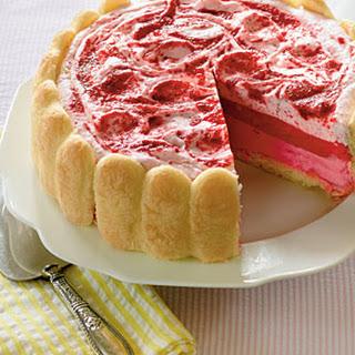 Strawberry Semifreddo Shortcake