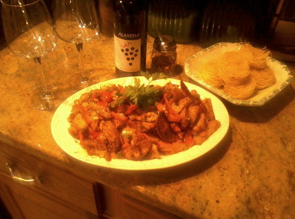 Chicken Sausage W/ Potatoes&peppers,onions Recipe