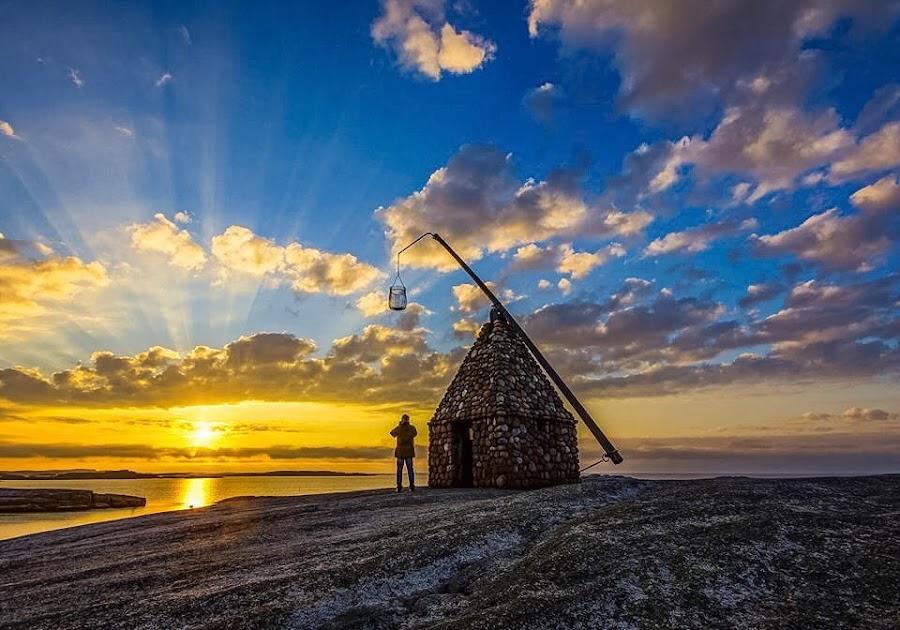 Sunrise at Worlds end by Martin Olsen - Landscapes Sunsets & Sunrises ( #norway#sunrise#skylovers )