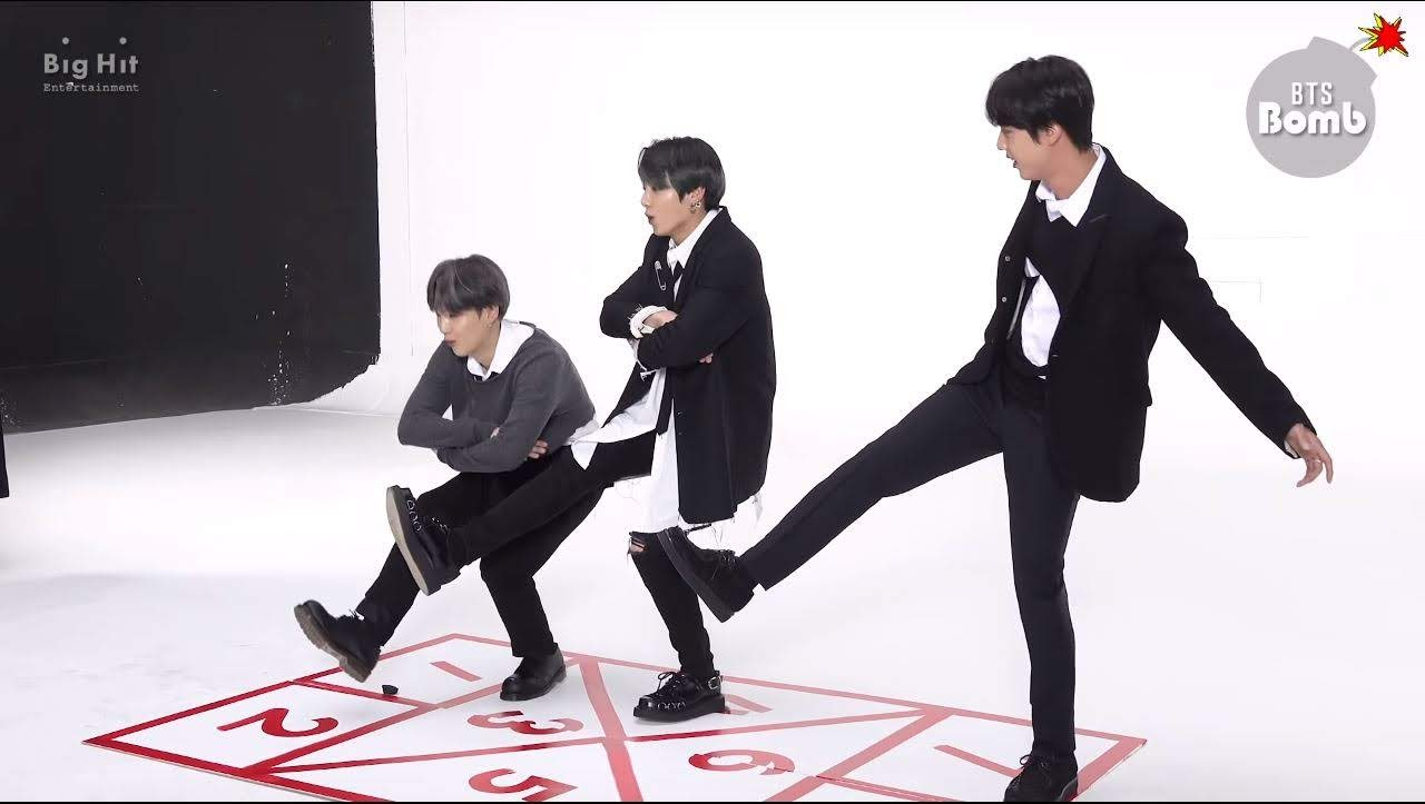 Hopscotch with BTS