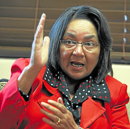 Patricia de Lille. File photo.