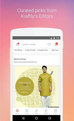 Download Kraftly - Buy, Sell & Find Items from Unique Shops APK