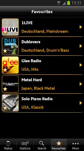Audi Music Stream screenshot 4