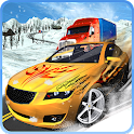 Winter Traffic Snow Driving icon