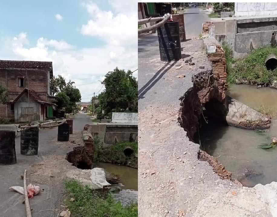 Pak Bupati Suprawoto, Jembatan Kami Ambrol, Kapan di Perbaiki ?