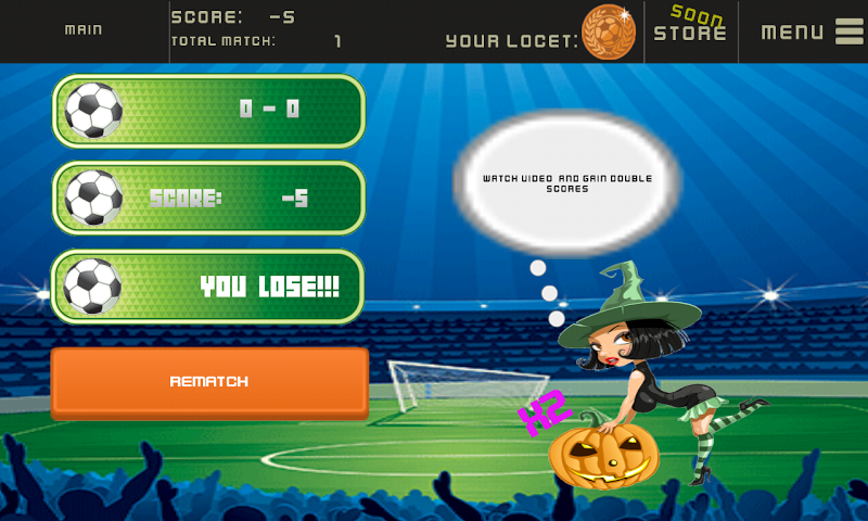android Soccer Physics V2 Screenshot 1