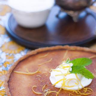 Tarte au Citron (Lemon Tart ) with Mascarpone Whipped Cream