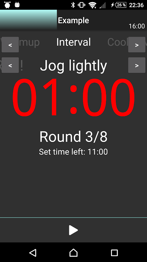 A HIIT Interval Timer- screenshot