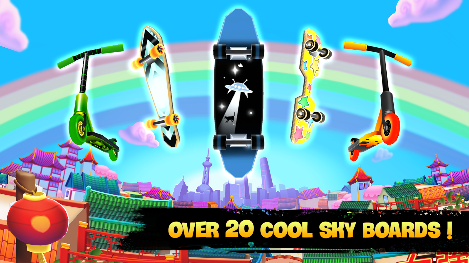 Skyline Skaters- screenshot