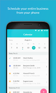 Setmore Appointments - Appointment Scheduling App Screenshot