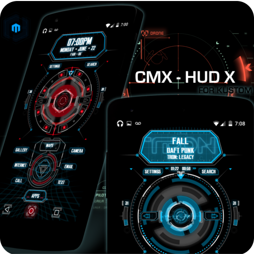 CMX - HUD X  · KLWP Theme