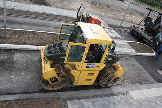 Photo: Baustelle Himmelreichallee 15.06.2012