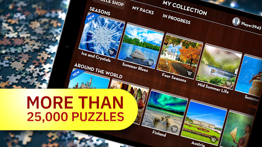 Epic Jigsaw Puzzles: Daily Puzzle Maker 4.1.8 screenshots 2