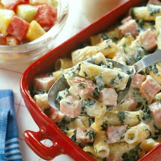Ham & Rigatoni Casserole.