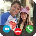 Maria Clara e JP Video Call Prank icon