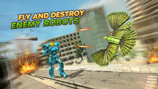 Army Spy Pigeon Multi Transforming Robot Games 1.0.0 screenshots 2