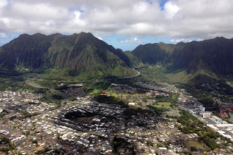 Photo: Oahu heli tour http://ow.ly/caYpY