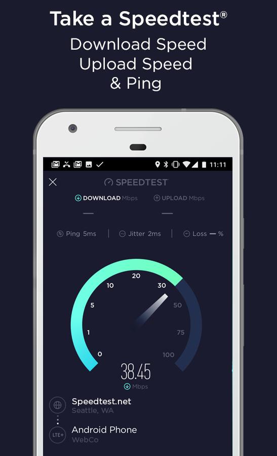 Speedtest.net v4.4.4 [Mod Lite]
