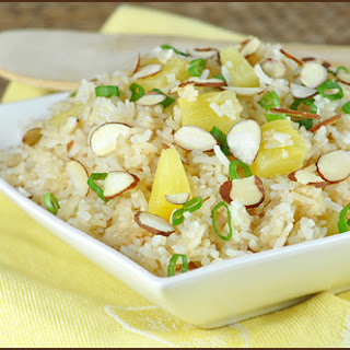 Pineapple and Coconut Rice.