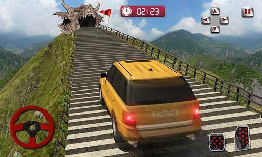 Cruiser Car Stunts: Dragon Road Driving Simulator apktram screenshots 4