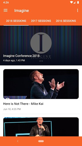 imagine conference screenshot 1