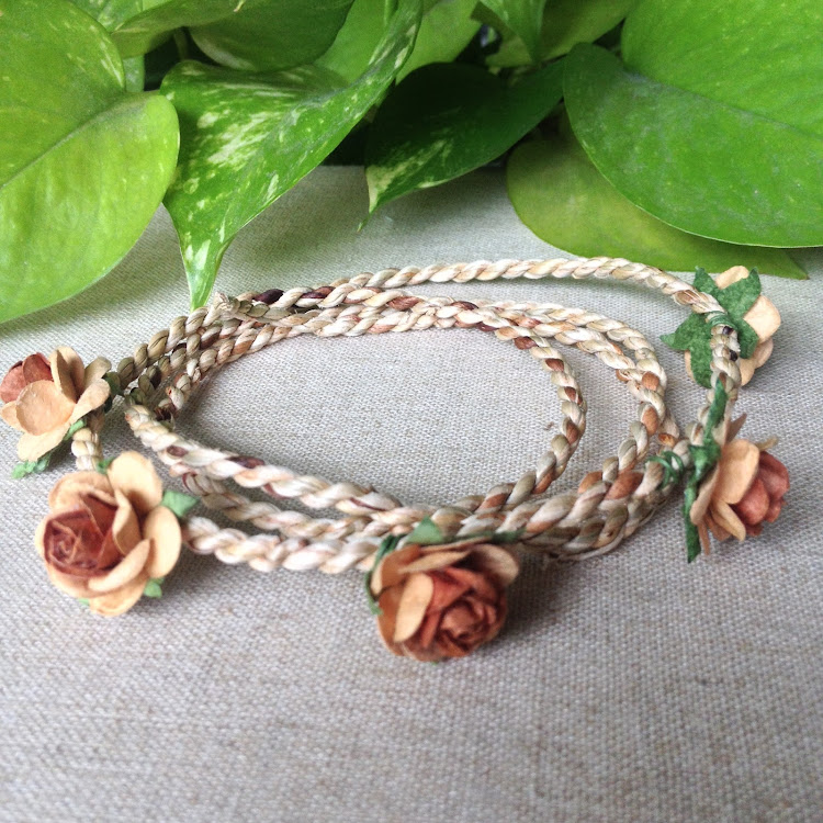 Brown Floral Headband by Style Me Pretty