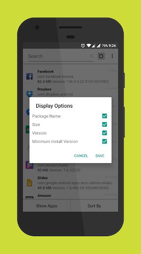 Apk Extractor Lite 2.7 screenshots 6