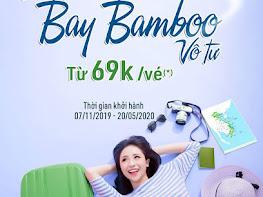 Khuyến mại 5 ngày vàng bay Bamboo giá 69K