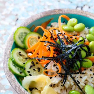 Spicy Veggie Sushi Bowls
