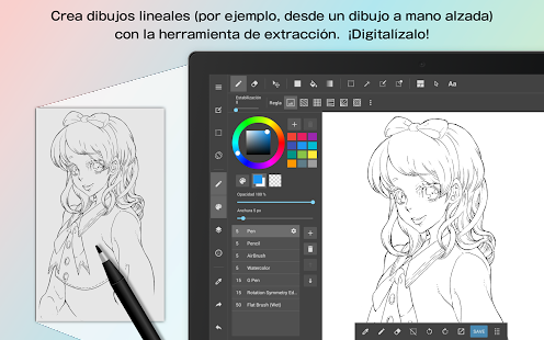 MediBang Paint - Dibujo Screenshot